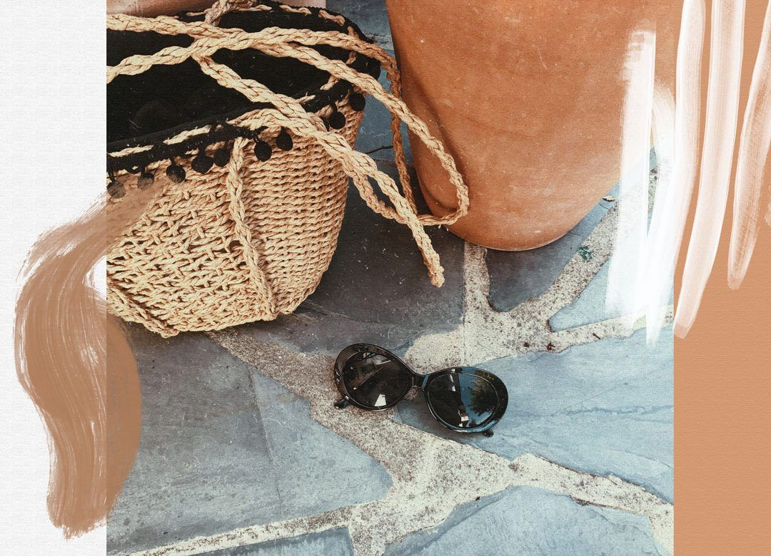 My Italian trip and how to dress for a hot summer in Tuscany | Raffia bag and terracotta detail with retro sunglasses | Effortless chic Italian style | Romantic look | Chic look | Summer outfit inspiration | She talks Glam | Saida Antolin | Spanish Blogger | Italian Fashion